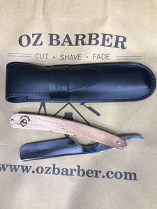 "THIERS ISSARD GRELOT-SPOAK RAZOR 5/8"" ROUND NOSE BOTH SIDES MIRROR POLISHED - Ozbarber"