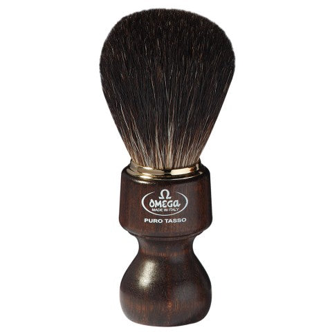 OMEGA BLACK BADGER SHAVING BRUSH 6126 - Ozbarber