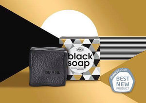 SPEICK BLACK SOAP, ACTIVATED CHARCOAL 100G - Ozbarber
