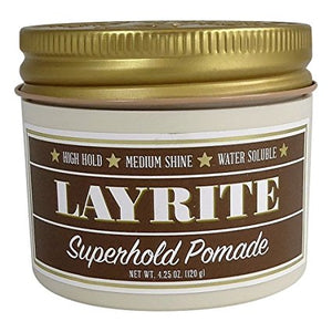 LAYRITE SUPER HOLD POMADE 120G - Ozbarber