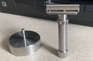 REX SUPPLY CO STAINLESS RAZOR STAND - Ozbarber