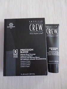 AMERICAN CREW PRECISION BLEND HAIR COLOUR 2-3 DARK - ozbarber