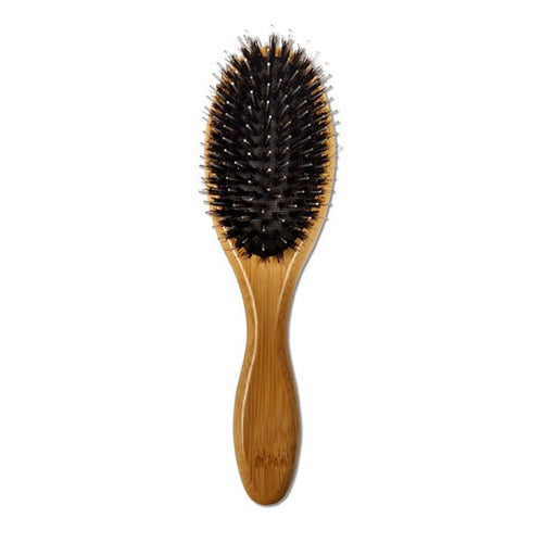 BOSSMAN BEARD BRUSH WITH BOAR HAIR & NYLON BRISTLES - Ozbarber