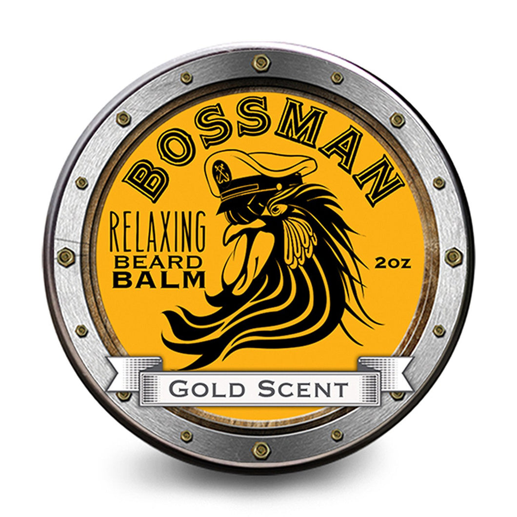 BOSSMAN BRANDS RELAXING GOLD BEARD BALM – 56G - Ozbarber