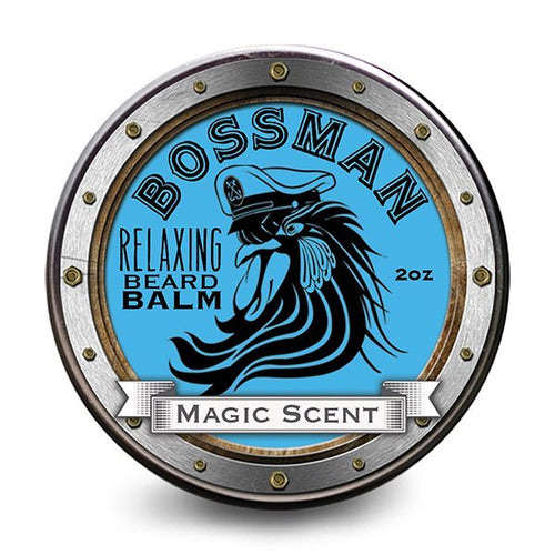 Bossman Relaxing Magic Beard Balm 56g - Ozbarber