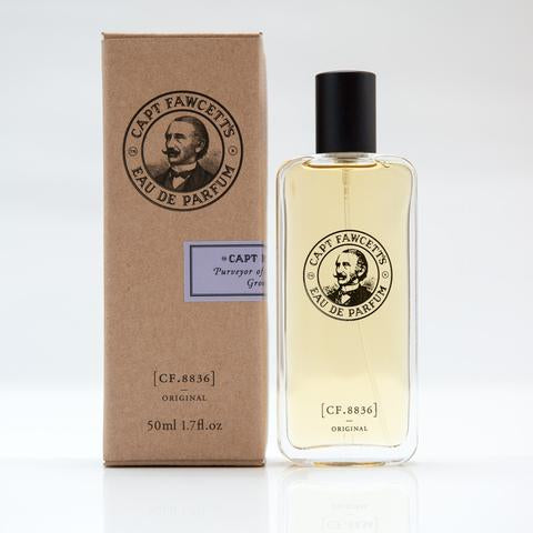 CAPTAIN FAWCETT'S EAU DE PARFUM ORIGINAL 50ML - Ozbarber