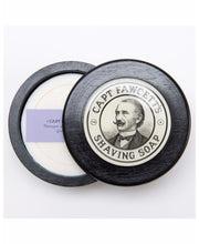 Load image into Gallery viewer, Captain Fawcett's Shave Soap with Wooden Bowl - Ozbarber