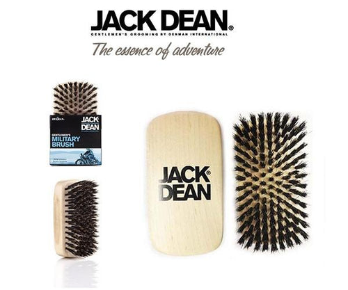 Jack Dean Military Hair and Beard Brush