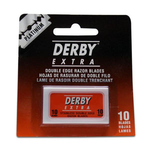 Derby Platinum Double-Edge Stainless Blades (10)
