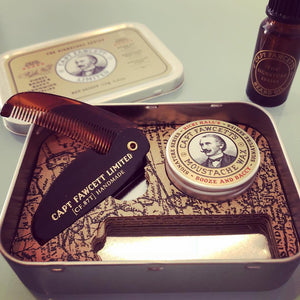 CAPTAIN FAWCETT'S RICKI HALL BOOZE & BACCY GROOMING SURVIVAL KIT - Ozbarber