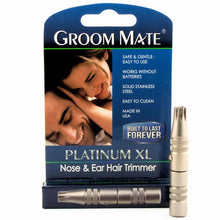 Load image into Gallery viewer, GROOM MATE NOSE & EAR HAIR TRIMMER PLATINUM XL - Ozbarber