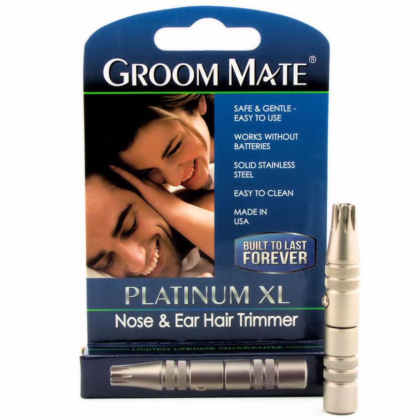 GROOM MATE NOSE & EAR HAIR TRIMMER PLATINUM XL - Ozbarber