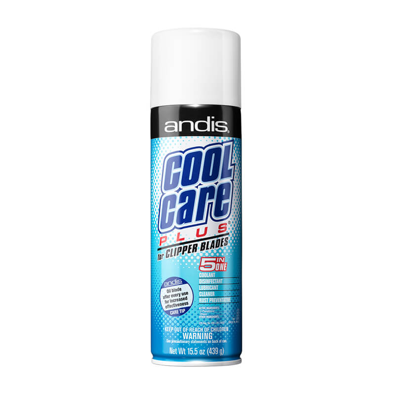 Andis Cool Care Plus 5-in-1 Blade Aerosol Spray 439g - Ozbarber