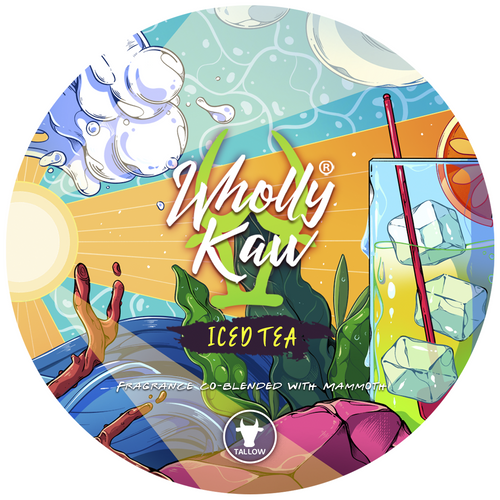 Wholly Kaw Iced Tea Shaving Soap Tallow