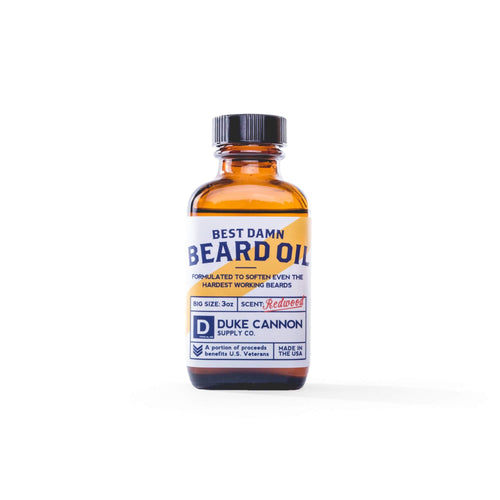 DUKE CANNON BEST DAMN BEARD OIL - Ozbarber