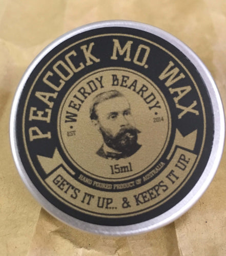 WEIRDY BEARDY PEACOCK MO. WAX 15ML - Ozbarber