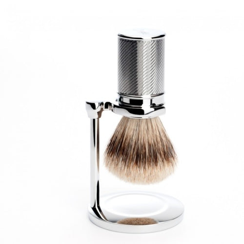 MUHLE RHM SR RP SHAVING BRUSH STAND – CHROME - Ozbarber