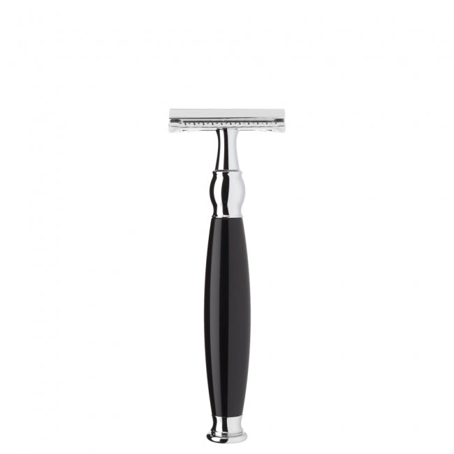 MUHLE SOPHIST R 44 SR CLOSED COMB SAFETY RAZOR BLACK RESIN - Ozbarber