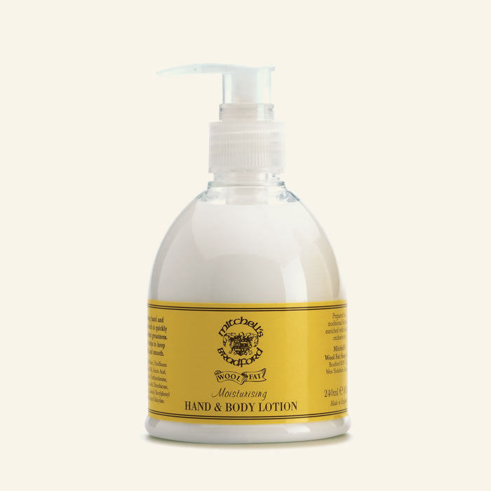 MITCHELL'S WOOL FAT HAND & BODY LOTION 240ML - Ozbarber