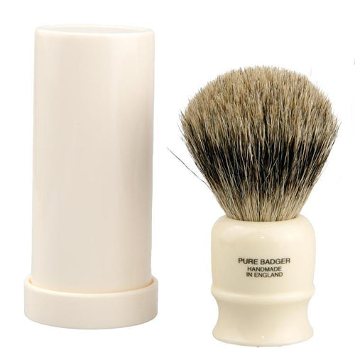 VULFIX OLD ORIGINAL PURE BADGER TRAVEL SHAVING BRUSH 2190 - Ozbarber