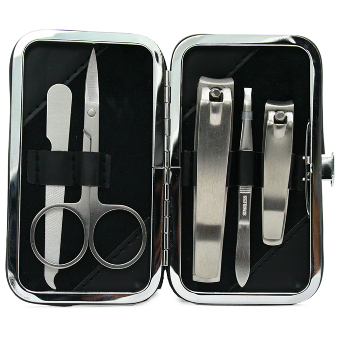 Rockwell Manicure Set 5-piece Stainless Steel.