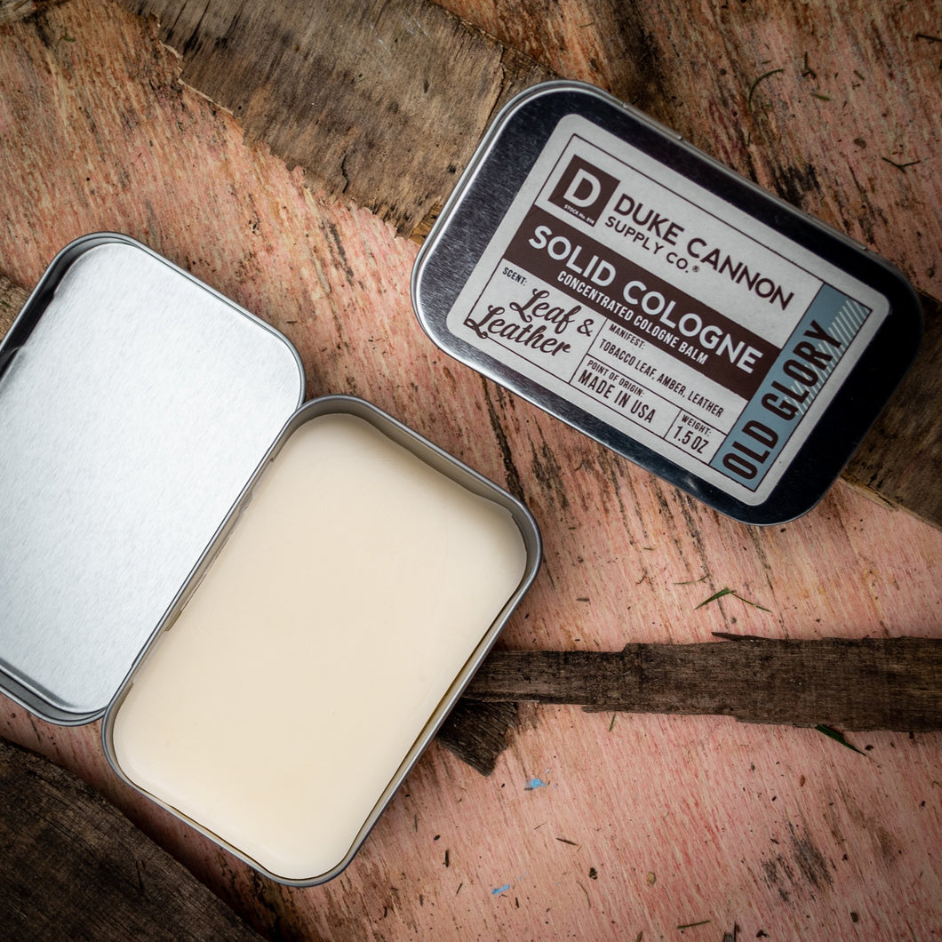 Duke Cannon Solid Cologne Old Glory