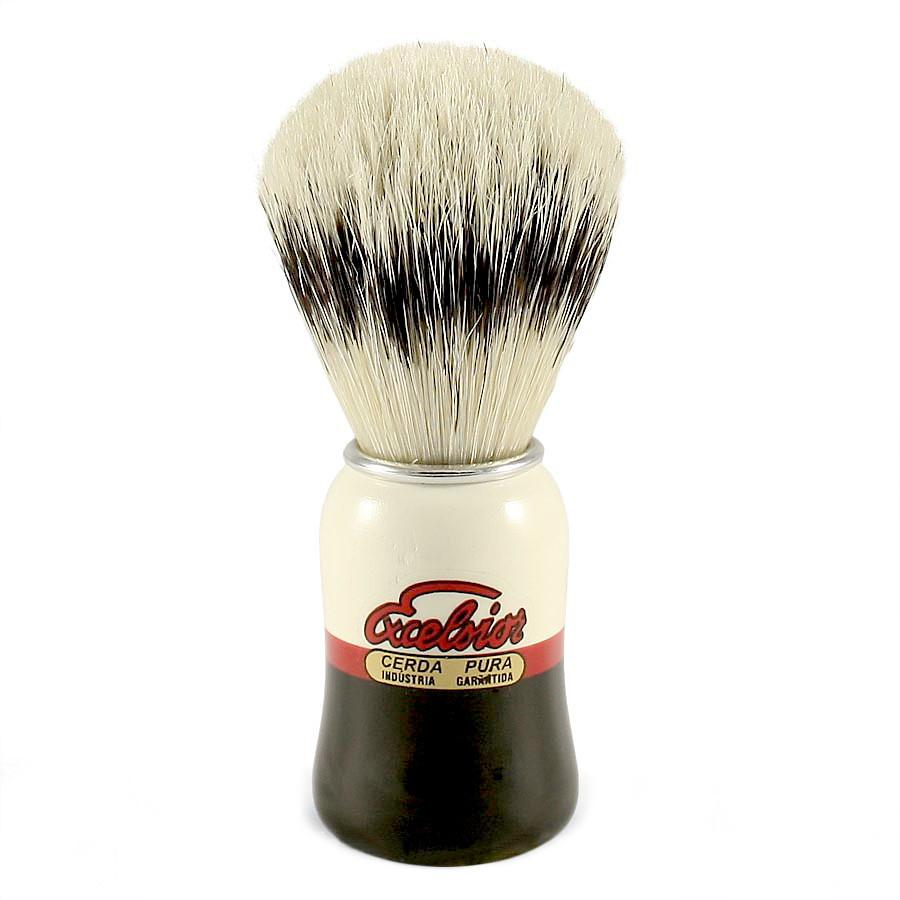 SEMOGUE 1520 PAINTED HANDLE PURE BOAR BRISTLE SHAVING BRUSH - Ozbarber
