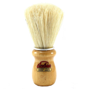 SEMOGUE 2000 BEECH WOOD HANDLE PURE BOAR BRISTLE SHAVING BRUSH - Ozbarber