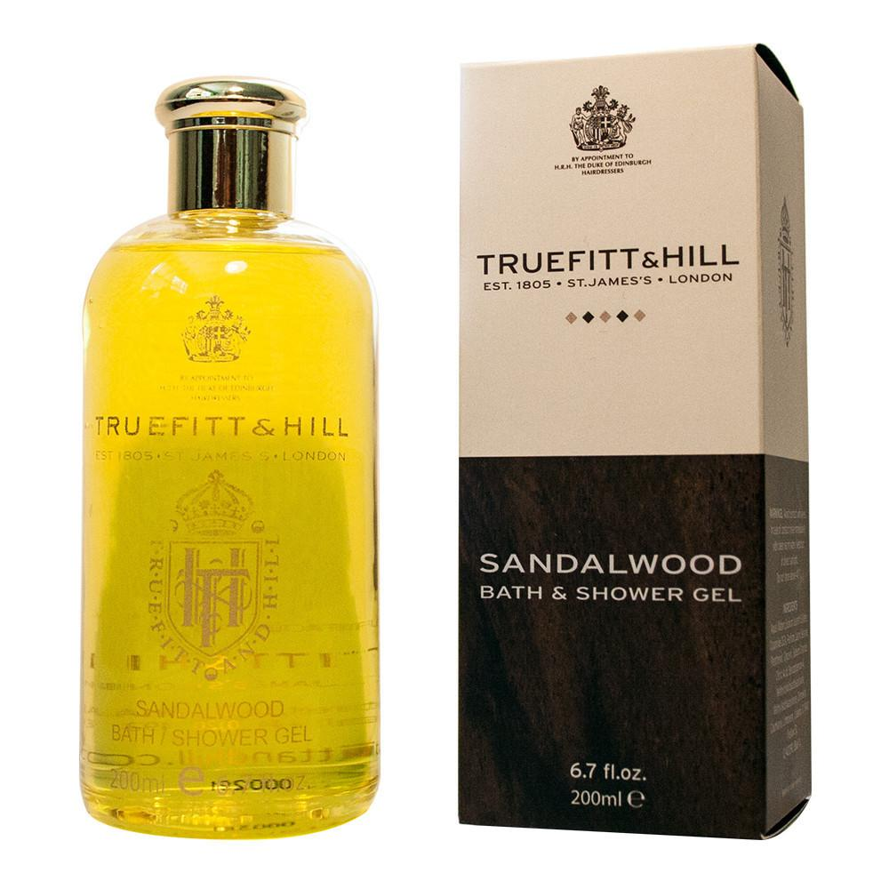 TRUEFITT & HILL SANDALWOOD BATH & SHOWER GEL - Ozbarber