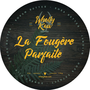 Wholly Kaw La Fougère Parfaite Shaving Soap Tallow