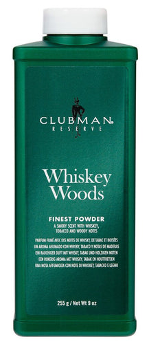 CLUBMAN RESERVE - WHISKEY WOODS POWDER - 9 OZ - Ozbarber