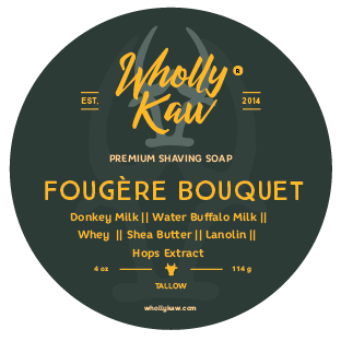Wholly Kaw Fougère Bouquet Shaving Soap Tallow