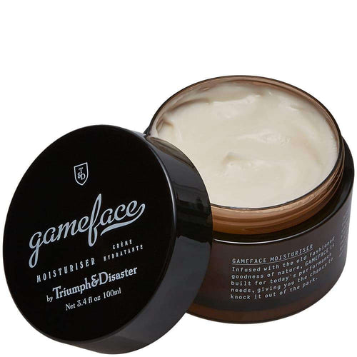 TRIUMPH & DISASTER GAMEFACE MOISTURISER 100ML JAR - Ozbarber