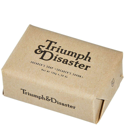 TRIUMPH & DISASTER SHEARER'S SOAP 130G - Ozbarber