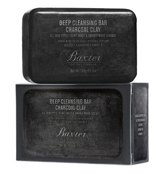 Baxter of California Deep Cleansing Bar Charcoal Clay 198g - Ozbarber
