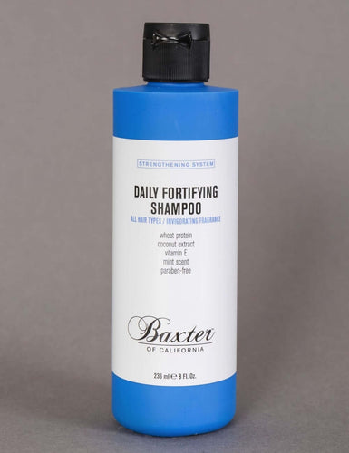 BAXTER OF CALIFORNIA DAILY FORTIFYING SHAMPOO 236ML - Ozbarber