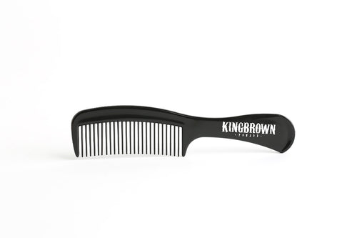 King Brown Black Handle Comb - Ozbarber