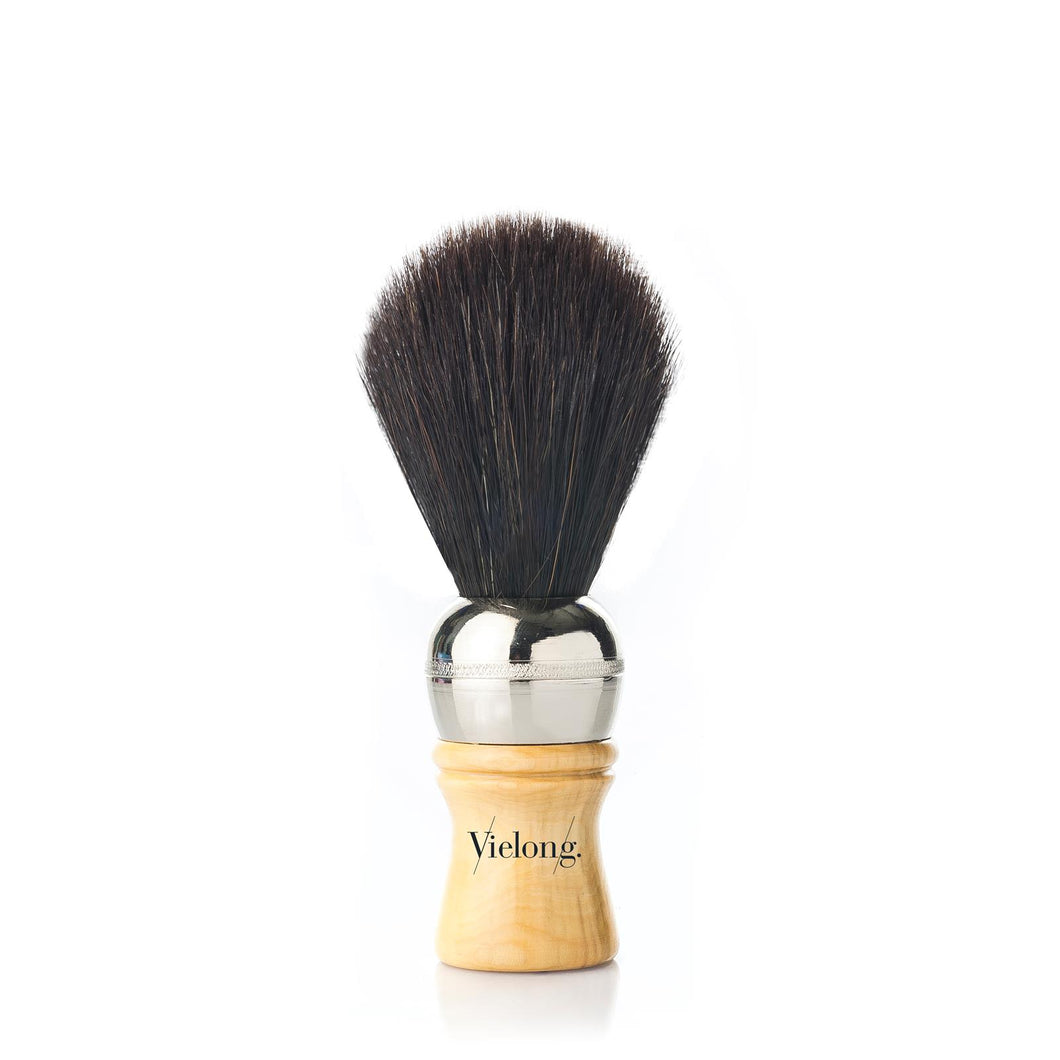 Vielong Espanola Black Horse Hair Shaving Brush D19