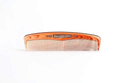 King Brown Tort Pocket Comb - Ozbarber