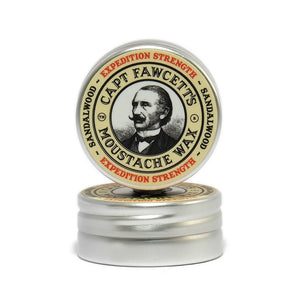 Captain Fawcett's Expedition Strength Moustache Wax 15ml - Ozbarber