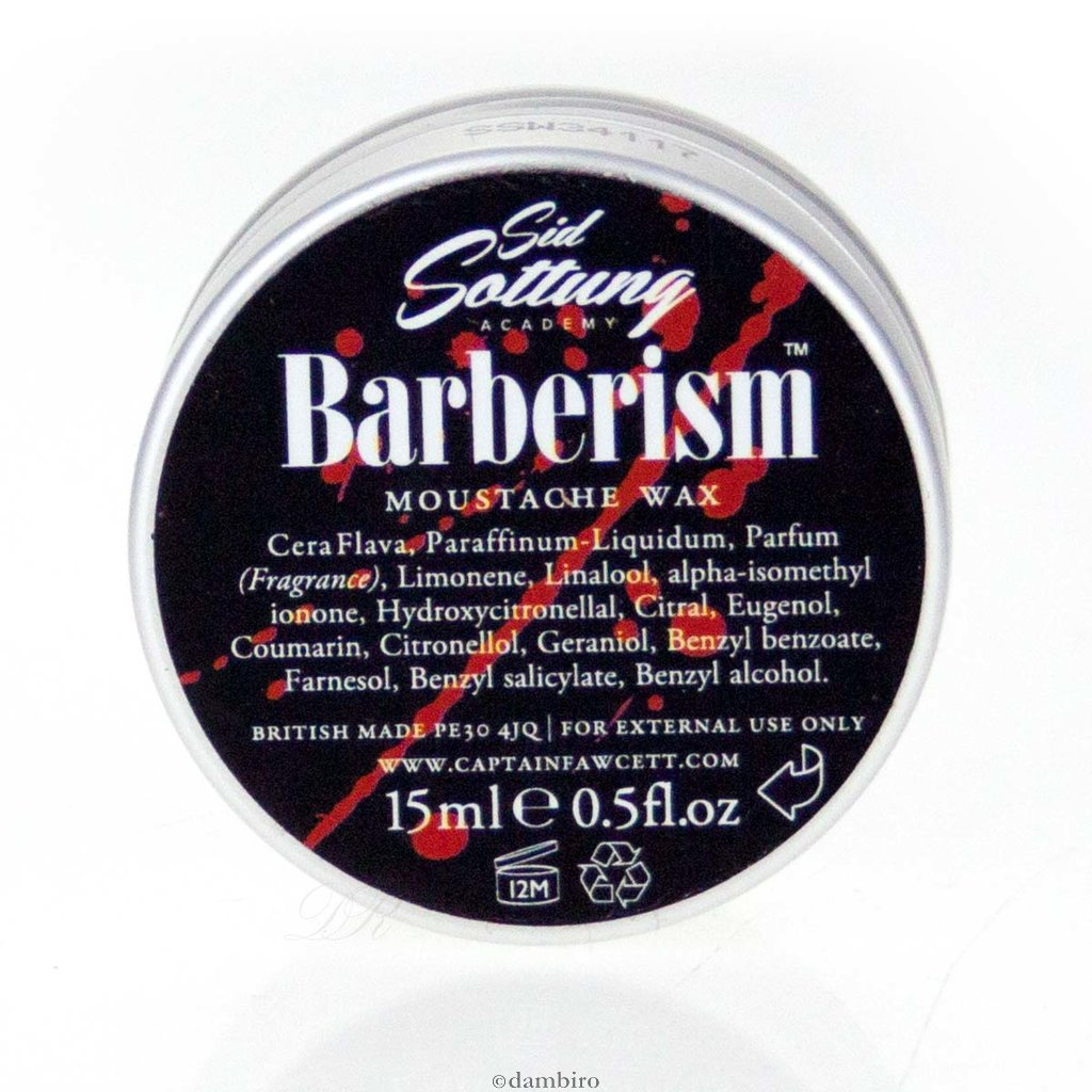 Captain Fawcett's Barberism Moustache Wax - Ozbarber