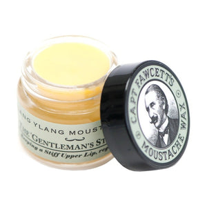Captain Fawcett's Ylang Ylang Moustache Wax 15ml - Ozbarber
