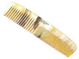 Abbeyhorn Small Cow Horn Double tooth Comb - Ozbarber