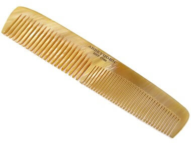 Abbeyhorn Large Cow Horn Double Tooth comb - Ozbarber