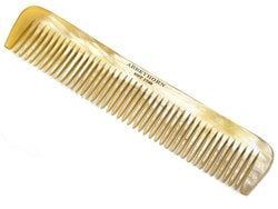 Abbeyhorn Cown horn wide singe tooth comb - Ozbarber