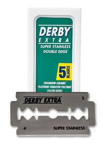 DERBY EXTRA DOUBLE EDGE BLADES (5) - Ozbarber