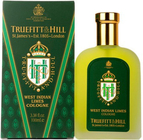TRUEFITT&HILL WEST INDIAN LIMES COLOGNE 100ML - Ozbarber