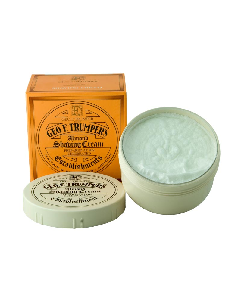 Geo F Trumper Almond Shaving Cream Bowl 200g - Ozbarber