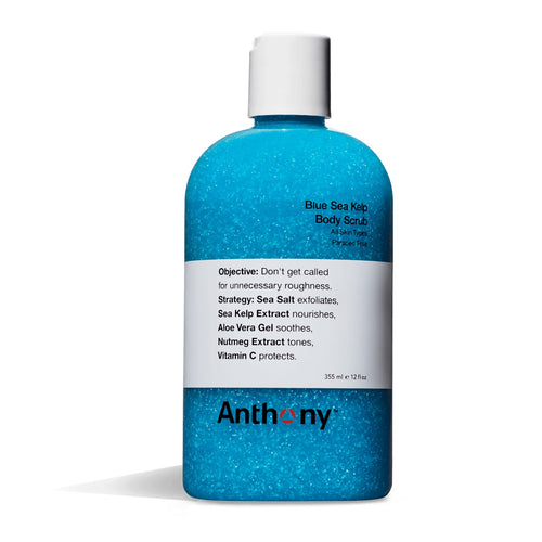 ANTHONY BLUE SEA KELP BODY SCRUB 355ML - Ozbarber