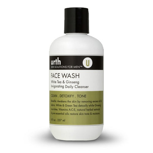 URTH FACE WASH WITH WHITE TEA & GINSENG 237ML - Ozbarber